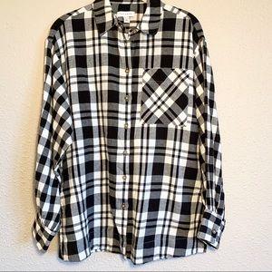 Topshop Plaid Flannel